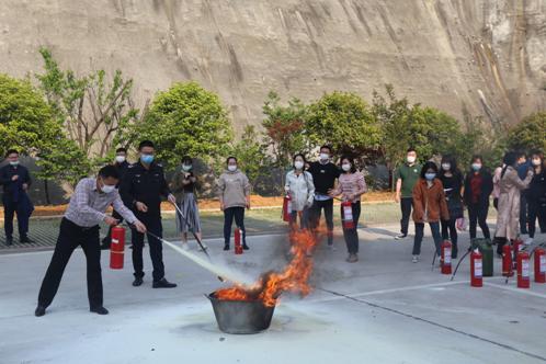 亿博国际平台下载开展消防安全知识培训